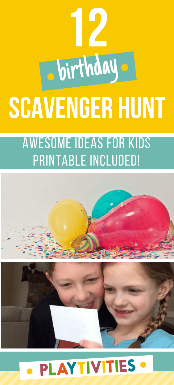 Birthday Scavenger Hunt For Kids