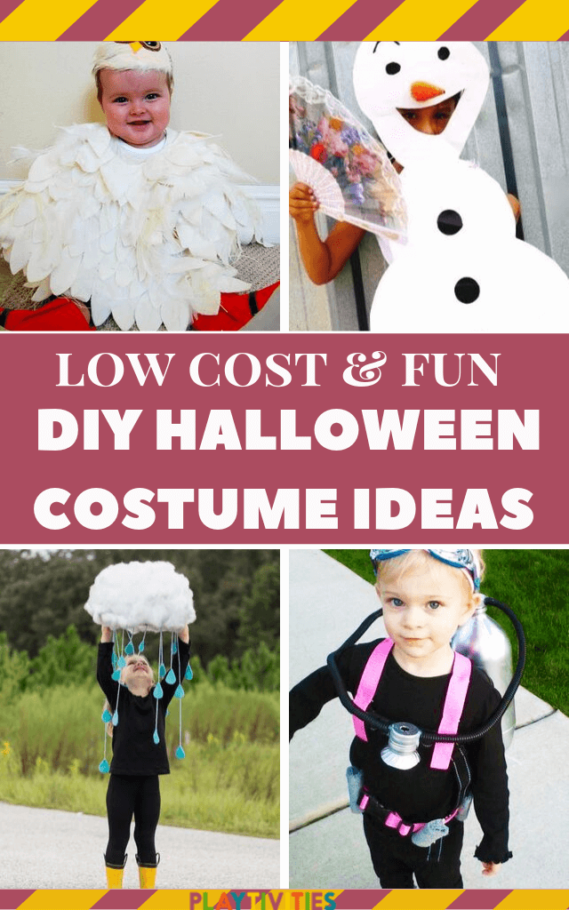diy halloween  costume ideas for kids