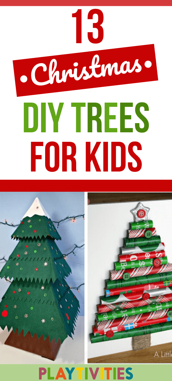 DIY Christmas tree ideas