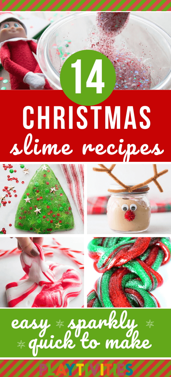 christmas slime for kids