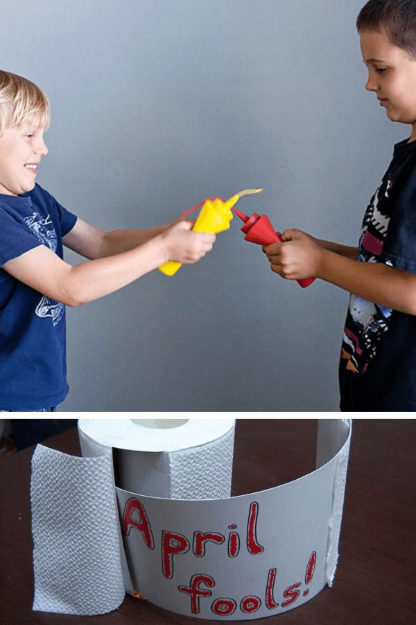 april fool's day pranks for kids