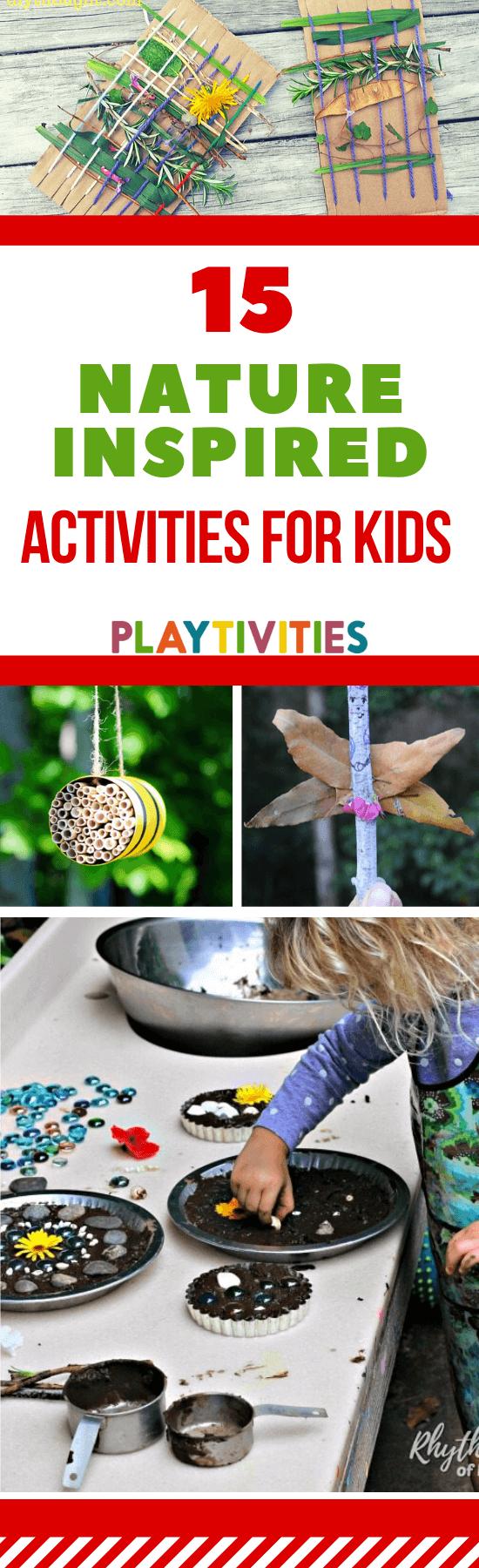 nature inspired activities