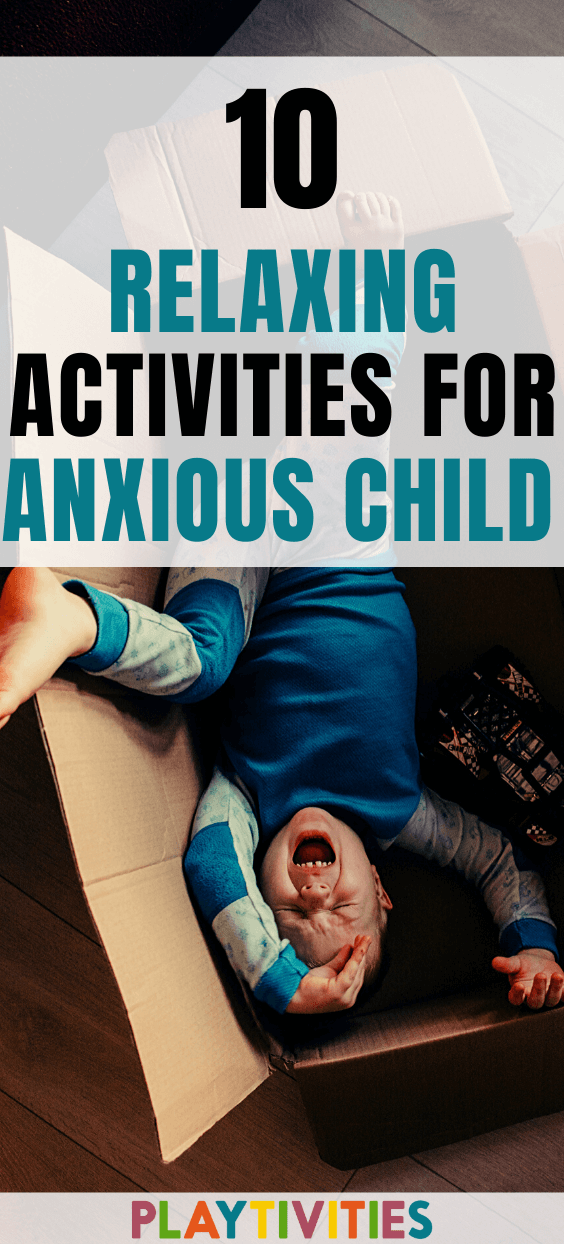 relaxing activities for kids