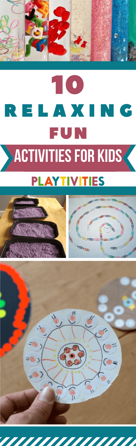 relaxing activities for kids