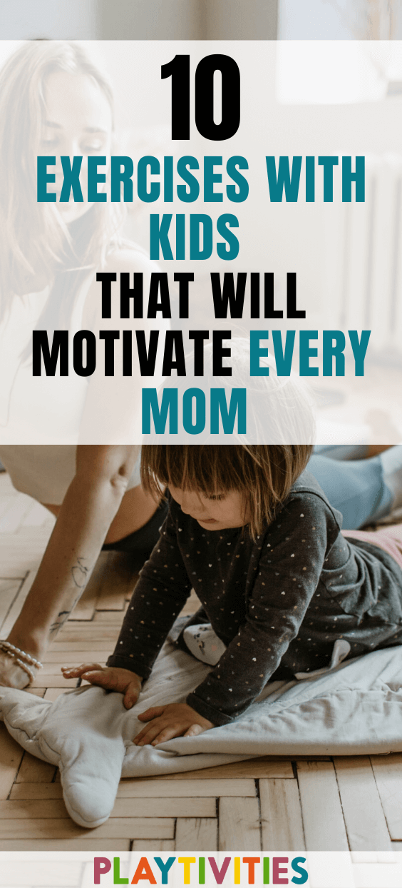 Exercises with kids