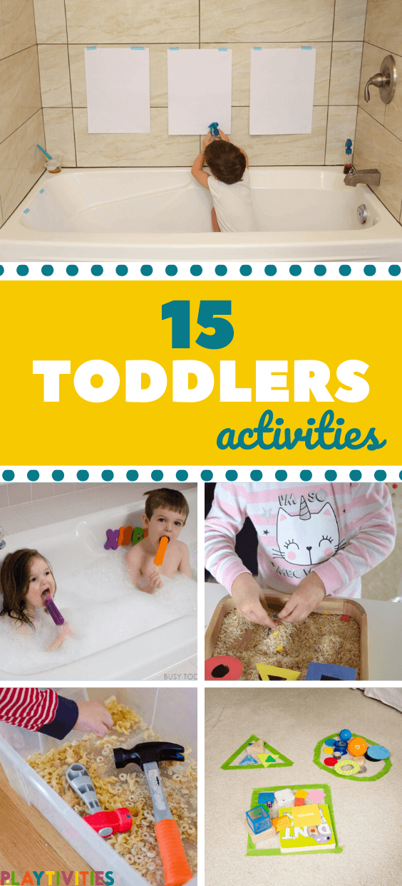 low-prep activities for toddlers