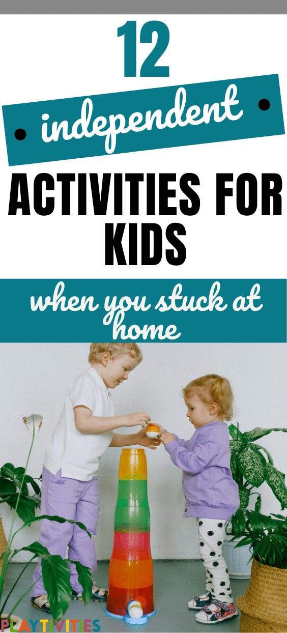 independent activities for kids