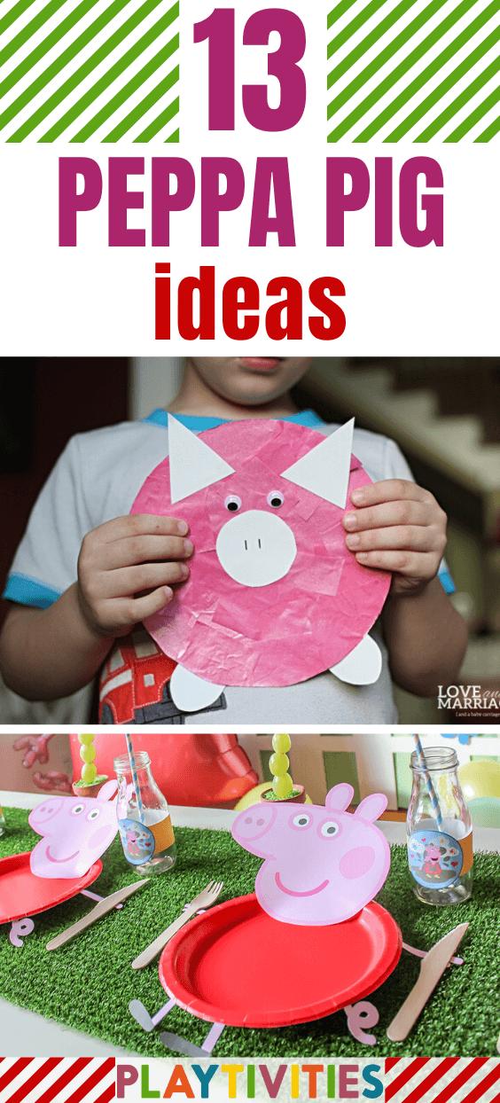 Peppa pig ideas for kids