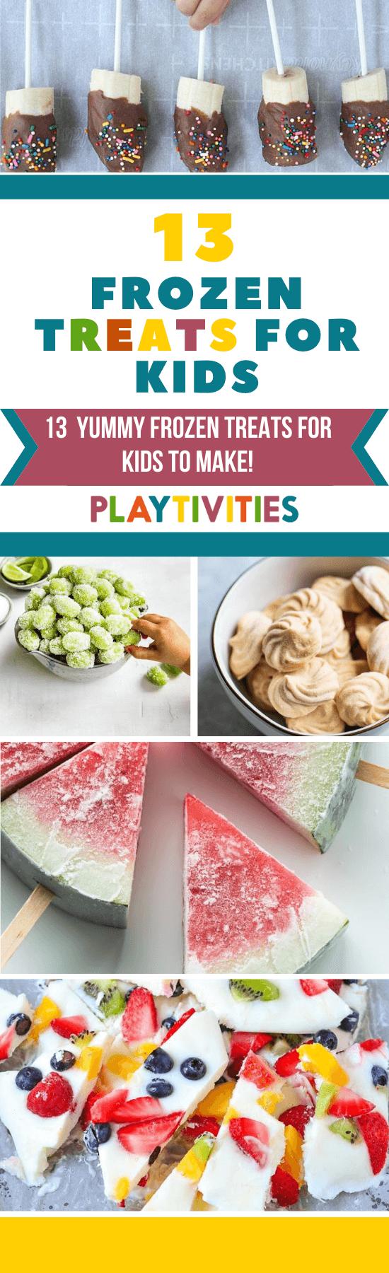 Frozen Treats For Kids