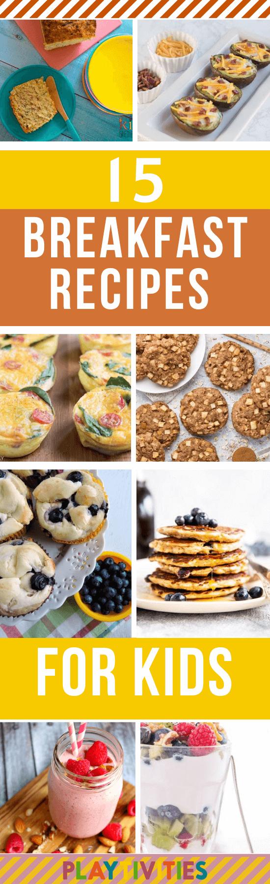 Breakfast Recipes for Kids